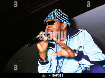 Assassin performing live at Miss Reggae Gold competition at the CC Club London. - Stock Photo