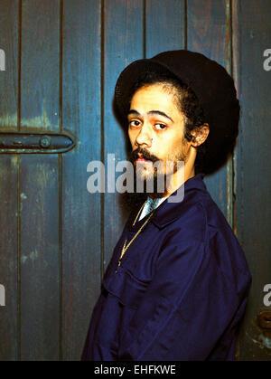 Portrait of Damian Marley. - Stock Photo