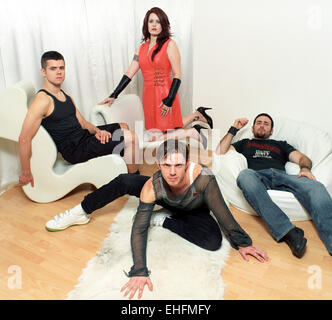 Scissor Sisters - portrait - Stock Photo
