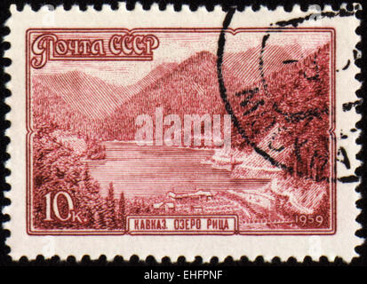 USSR - CIRCA 1959: stamp printed in USSR - Stock Photo