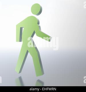 Pedestrian - Stock Photo