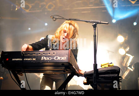 Metric live at Electric Ballroom London 19/05/09. - Stock Photo