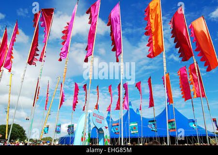 Isle of Wight Festival June 2009. - Stock Photo