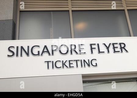Singapur Flyer / Singapore Flyer - Stock Photo