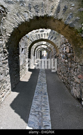 Arch in Fort Liberia - Stock Photo