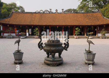 One Pillar Pagoda, Hanoi, Vietnam, Asia - Stock Photo