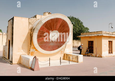 Jantar Mantar Observatory, Jaipur. - Stock Photo