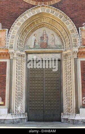 Church of Saint Mary of Carmine in Milan - Stock Photo