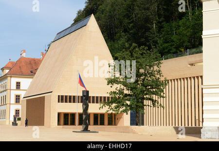 Landtag in Liechtenstein / Parliament of Liechtenstein - Stock Photo