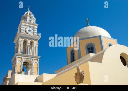 Church in Fira - Stock Photo