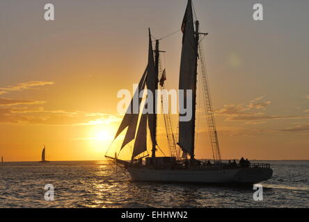Key West Sunset - Stock Photo