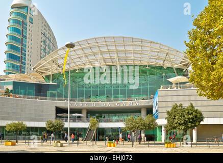 Vasco da Gama-Shopping Mall - Stock Photo