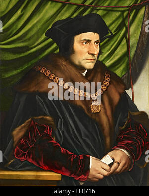 Sir Thomas More, English lawyer, social philosopher, author, statesman and noted Renaissance humanist. - Stock Photo