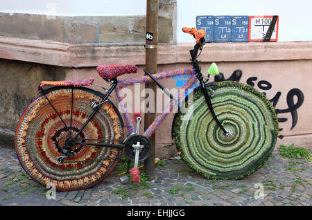 Art bicycle - Stock Photo