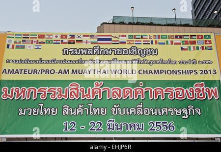 World Championship Muay Thai 2013 - Stock Photo