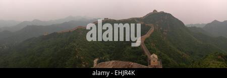 Great wall of china, Jinshanling - Stock Photo