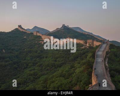 Great wall of china Badaling - Stock Photo