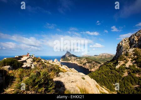 Cap de Formentor, Mallorca, Spain - Stock Photo