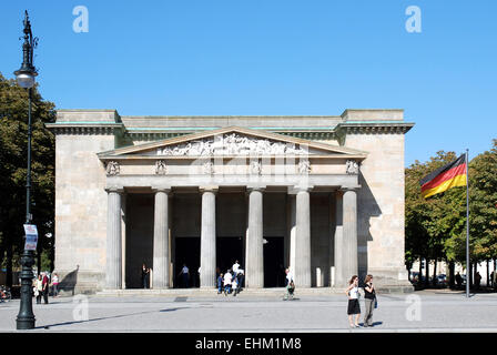 New Guardhouse in Berlin - Central Memorial of the Federal Republic of Germany for the Victims of War and Dictatorship. - Stock Photo