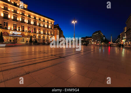 Night Beach Grand Hotel Bordeaux