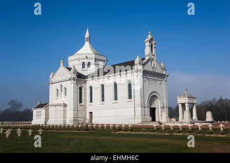 Necropole National, Notre-Dame de Lorette. - Stock Photo