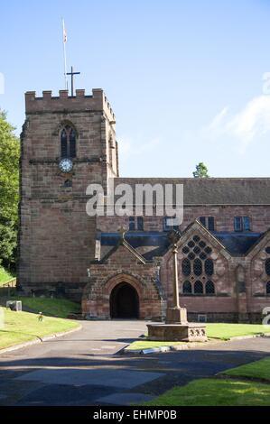 St Michael and All Angels Church, Tettenhall, Wolverhampton - Stock Photo