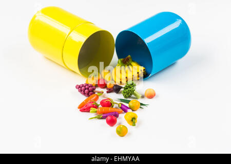 Conceptual image of nutraceuticals. - Stock Photo