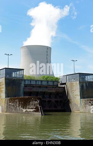 Atomkraftwerk / Nuclear reactor - Stock Photo