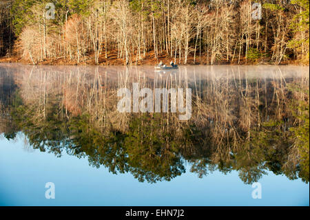 Lamar County Lake, Vernon, Alabama, USA. 16th March, 2015 ...