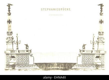 Berichte der Wiener Stadtverwaltung, 1873ff, div. Pläne und Ansichten 02 - Stock Photo