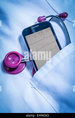 Telemedicine, conceptual image. - Stock Photo