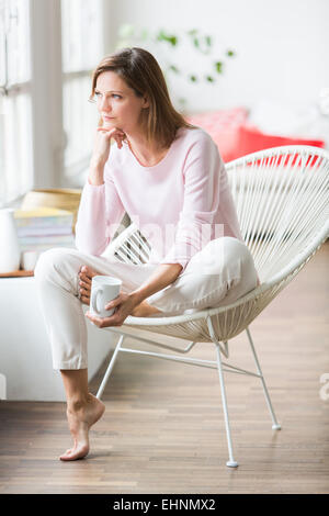 Portrait of a woman. - Stock Photo
