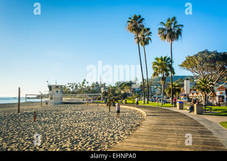 Main Beach Park, in Laguna Beach, California. - Stock Photo