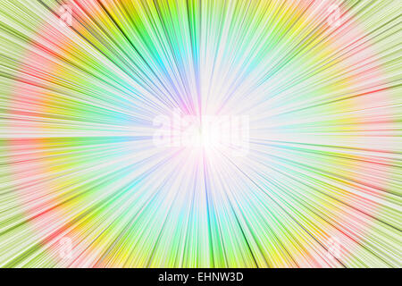 abstract circle light with explosion effect. - Stock Photo