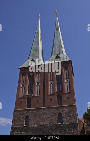 St. Nicholas' Church - Stock Photo