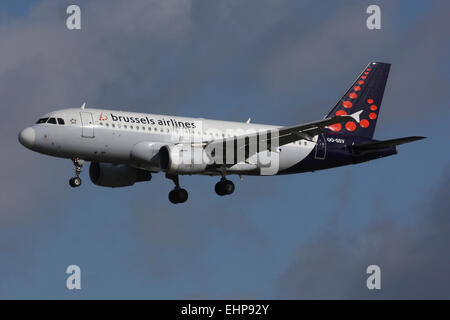 brussels a319 - Stock Photo