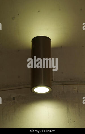 designer lamp on the wall - Stock Photo