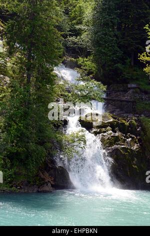 Giessbachfälle / Giessbach falls - Stock Photo