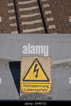 High tension - Stock Photo