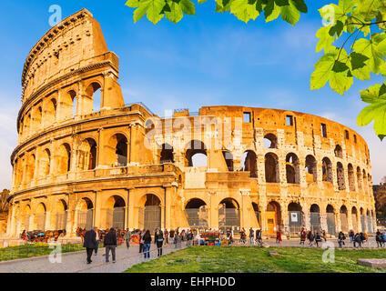 Colosseum in Rome - Stock Photo