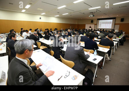 Keiko Tatsuwaki, MARCH 16, 2015 : Management seminars for sports organizations are held at Ajinomoto National Training - Stock Photo