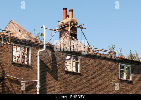 Stack Of Old Scaffolding Stock Photo 182015599 Alamy