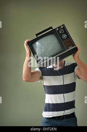 TV-Maniac - Stock Photo