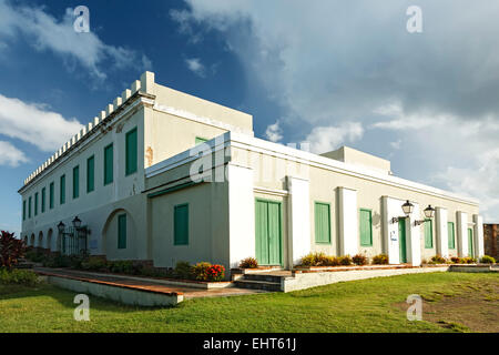 Fort and Museum Conde de Mirasol, Isabel Segunda, Vieques, Puerto Rico - Stock Photo