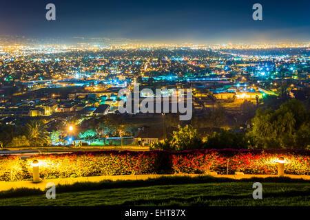 Sunset At Hilltop Park Long Beach