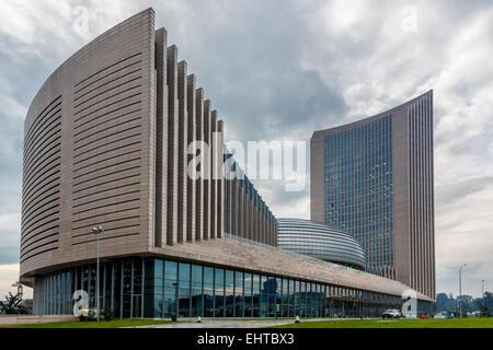African Union Headquarters - Stock Photo