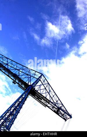The Transporter Bridge, Middlesbrough - Stock Photo