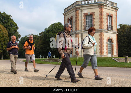 HIKING IN THE EURE-ET-LOIR (28), CENTRE, FRANCE - Stock Photo