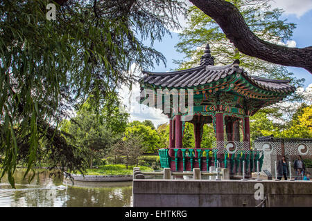 JARDIN D'ACCLIMATATION, BOIS DE BOULOGNE, PARIS (75), FRANCE - Stock Photo