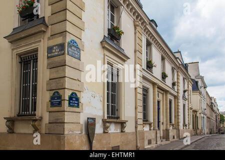 ILLUSTRATION OF THE CITY OF PARIS (75), ILE-DE-FRANCE, FRANCE - Stock Photo